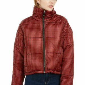 Celebrity Pink Puffer RED/BLACK Jacket CB99794S